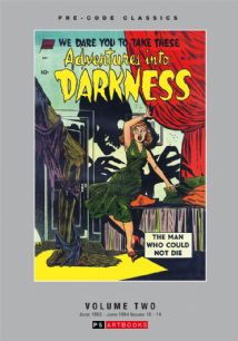 Pre-Code Classics Adventures Into Darkness  Volume 2